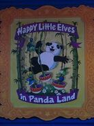 The Simpsons Ride Happy Little Elves in Panda Land Poster