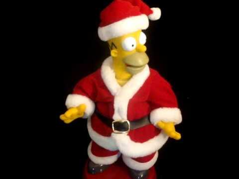 Dancing Christmas Homer Simpson