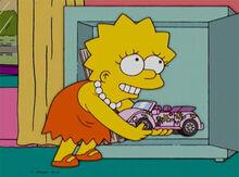 Lisa carrinho malibu cofre