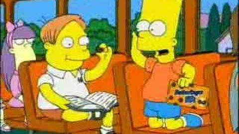 Simpsons Butterfinger BB's Commercial