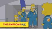 """THE SIMPSONS Faking It from """"The Marge-ian Chronicles"""" ANIMATION on FOX"""