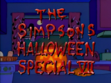 The Simpsons Halloween Special VII - Title Card