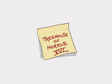 Treehouse of Horror XVI - Title Card