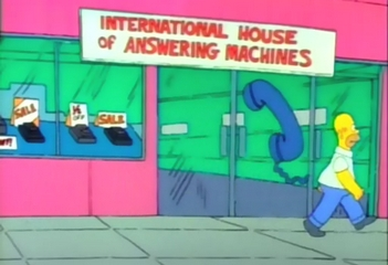 International House of Answering Machines