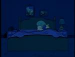 Marge sleeps alone