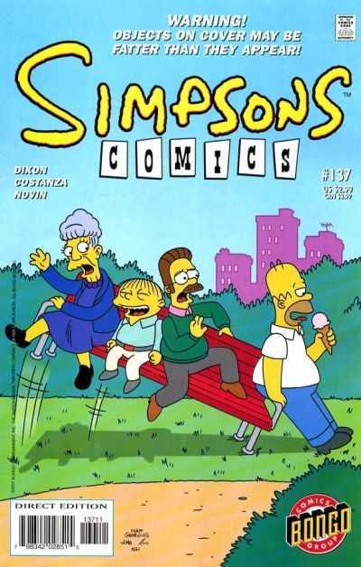Simpsons Comics 137