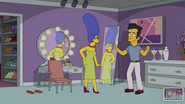 Marge Simpson in Wrecking Queen Scenes 16 v2
