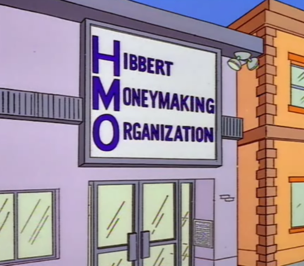 Hibbert Moneymaking Organization