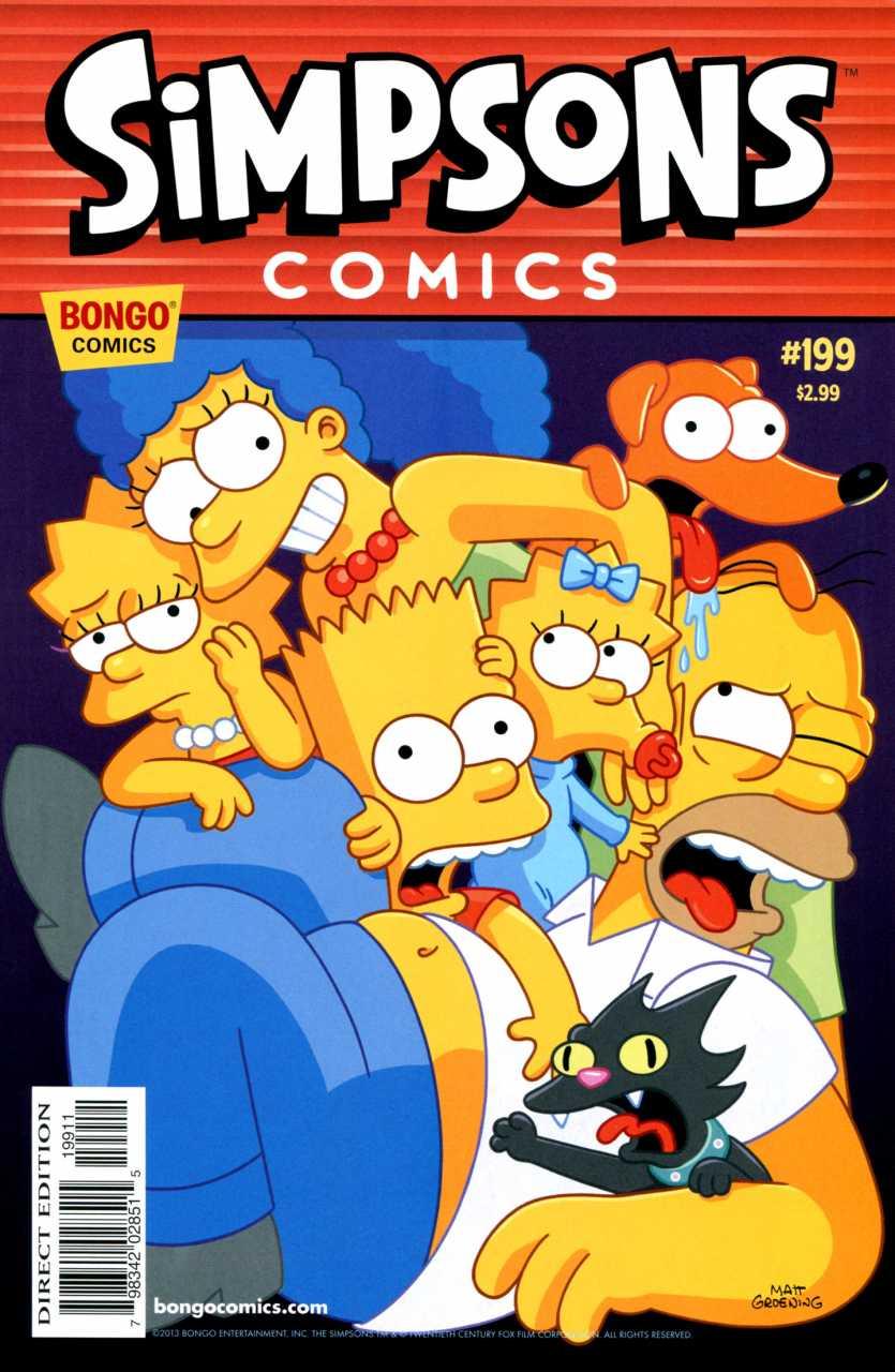 Simpsons Comics 199
