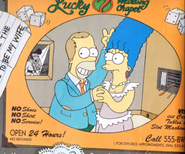 Homer's and Marge's Wedding