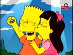Jessica Kissing Bart