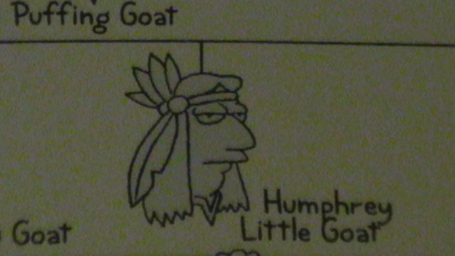 Humphrey Little Goat
