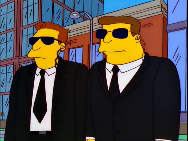Mayor Quimby's Bodyguards