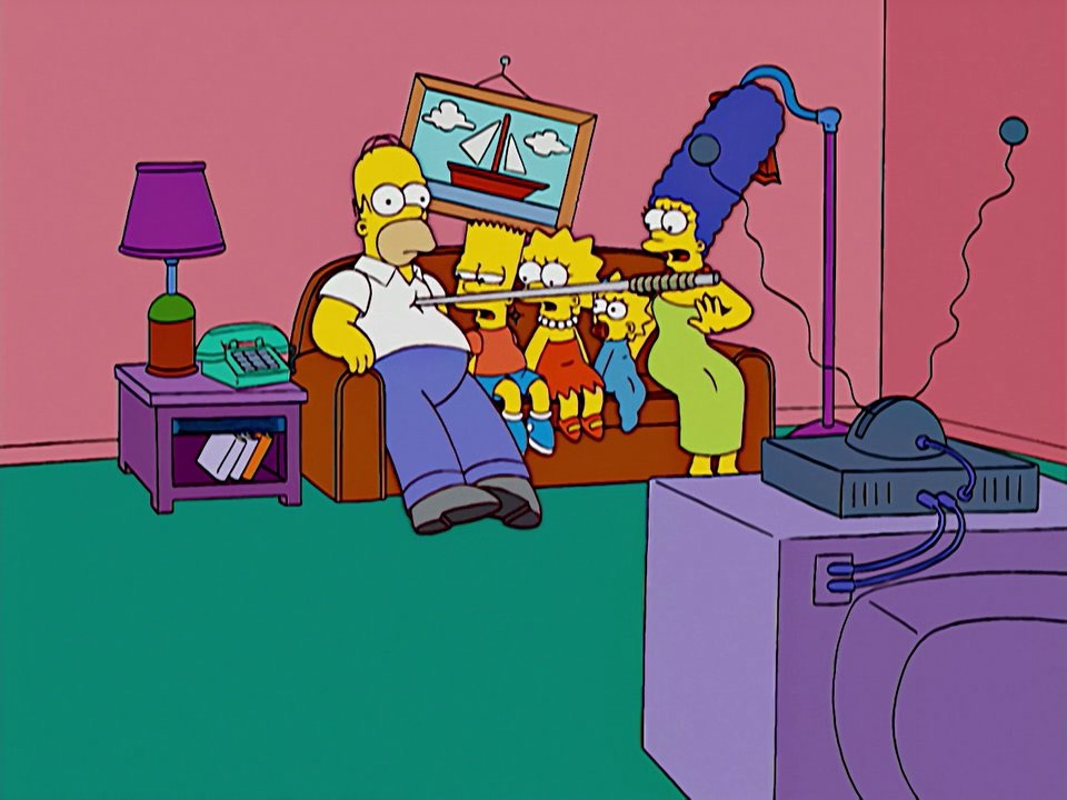"Fake ""Normal couch gag"" couch gag"