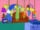 Hung couch gag