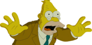 Abraham Simpson in The Simpsons Movie