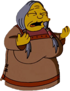 Medicine Woman in The Simpsons Movie