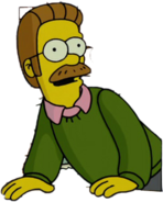 Ned Flanders in The Simpsons Movie