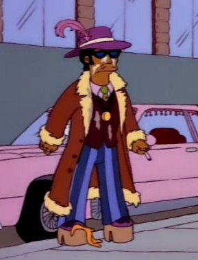 Pimp (The City of New York vs. Homer Simpson)