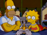 Lisa se perdeu