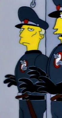 Itchy & Scratchy Land Guard 2