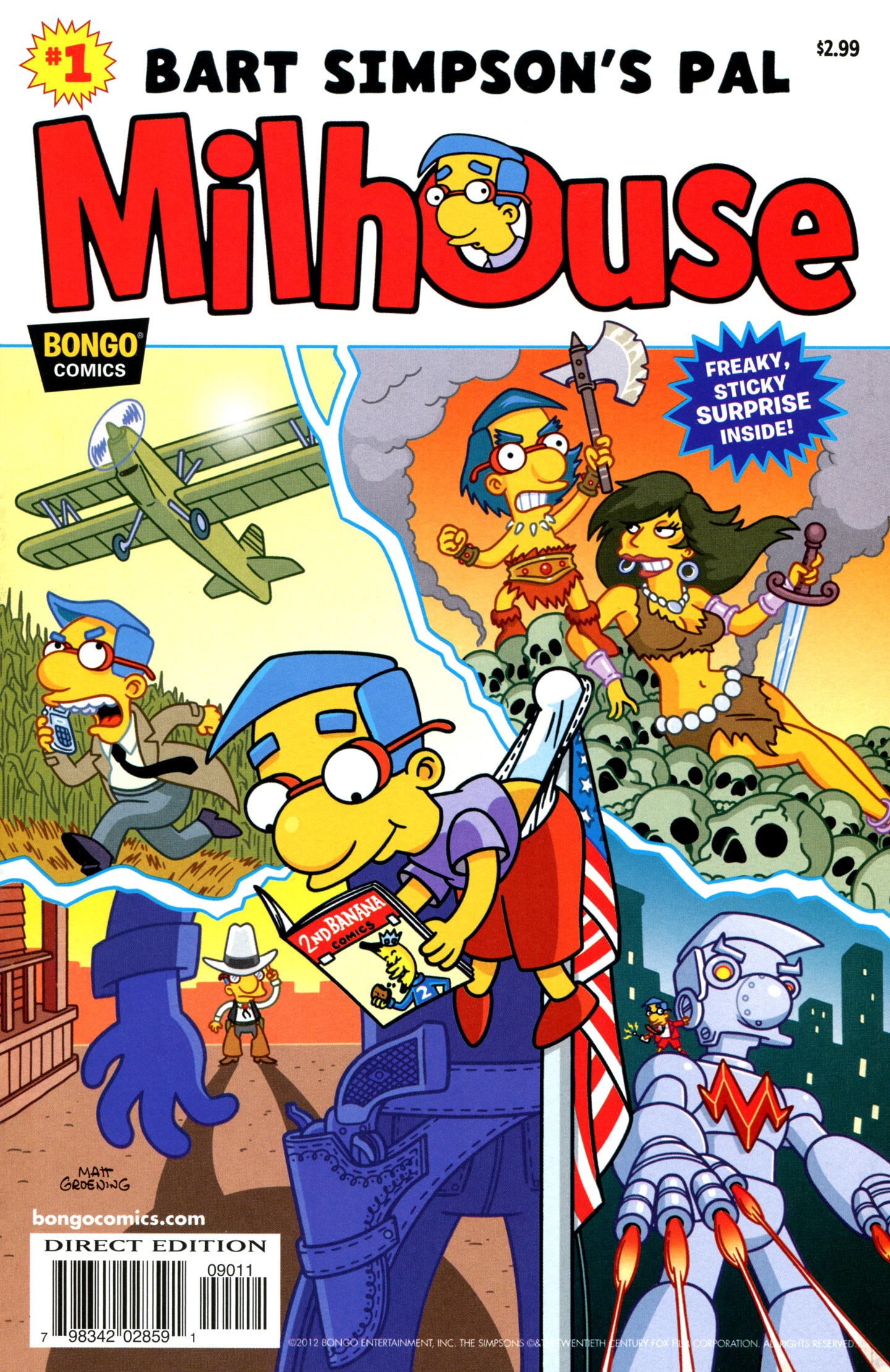 Bart Simpson's Pal, Milhouse