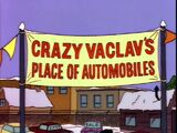 Crazy Vaclav's Place of Automobiles