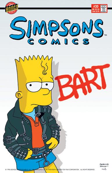 Simpsons Comics 20
