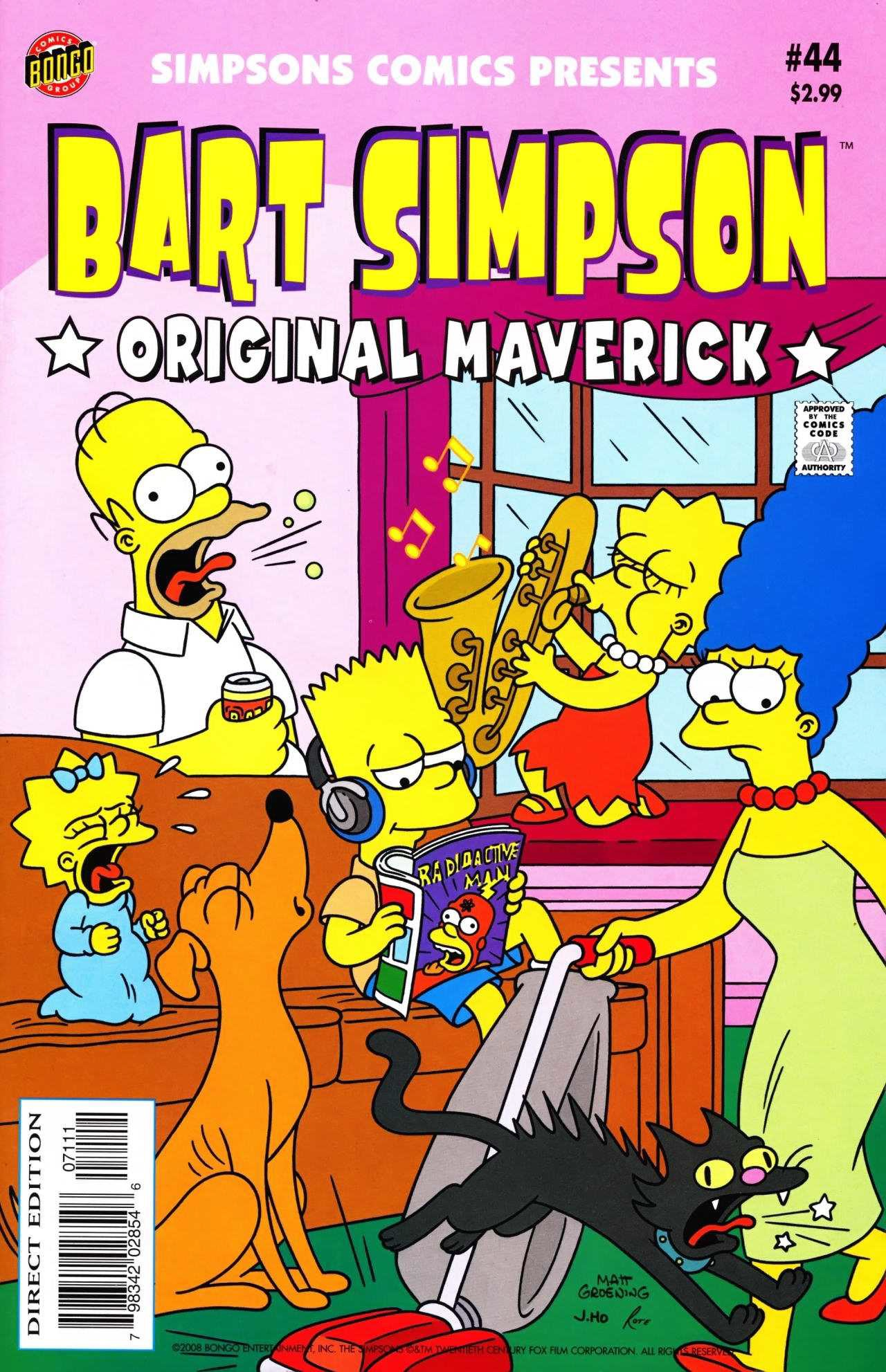 Bart Simpson Comics 44