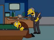 HomerAndNed'sHailMaryPass-MoePlayingPool