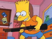 Bart rifle brinquedo