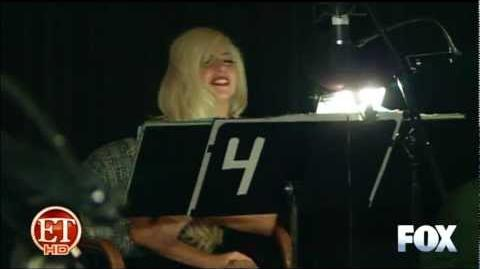 Behind the Scenes - Lady Gaga on The Simpsons