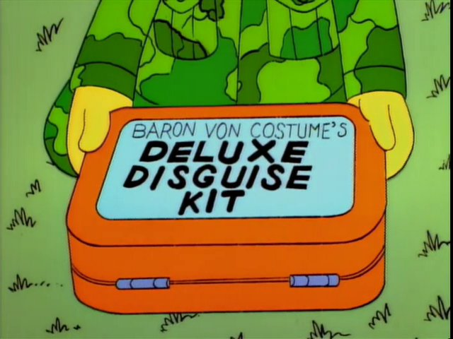 Baron Von Costume's Deluxe Disguise Kit