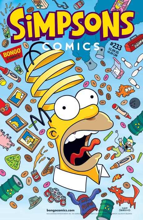 Simpsons Comics 233