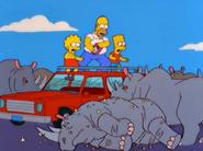 Marge Simpson in Screaming Yellow Honkers 1