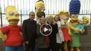 'The Simpsons' celebrate 30th anniversary atop the Empire State Building