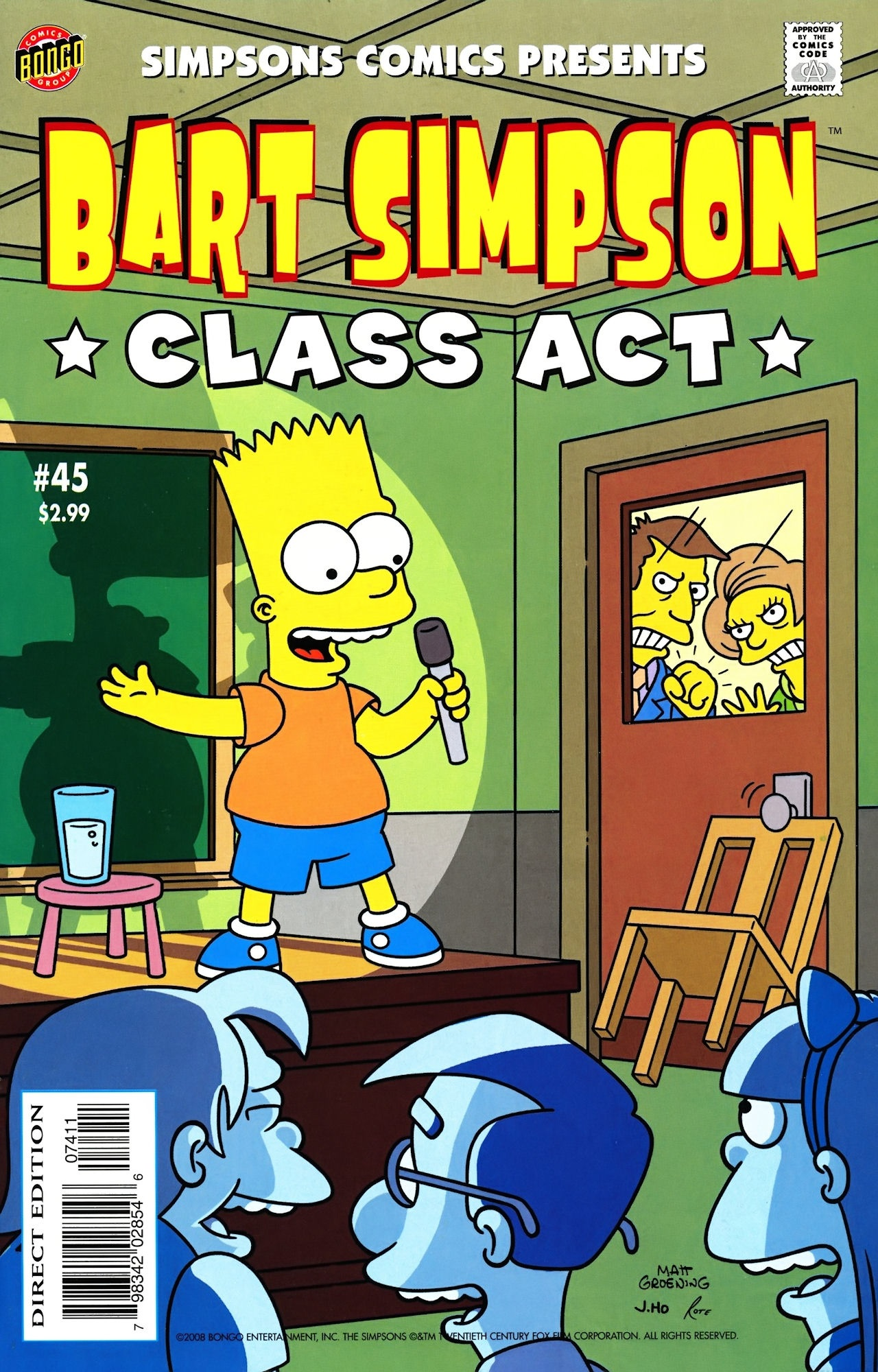 Bart Simpson Comics 45
