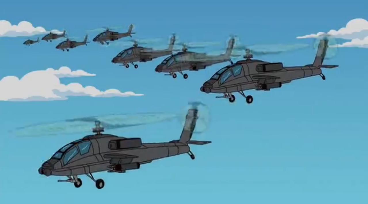 Army Attack Helicopter