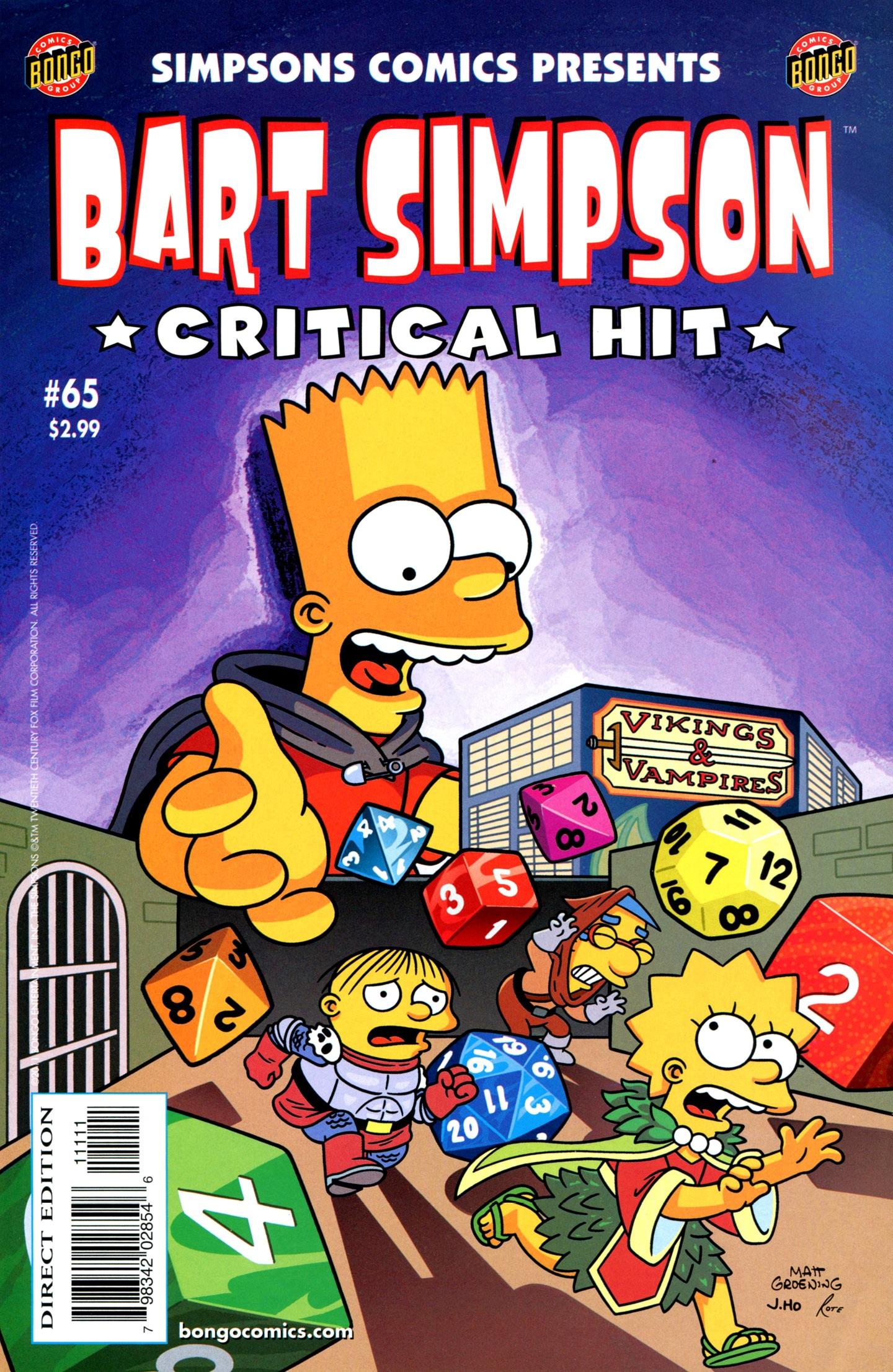 Bart Simpson Comics 65