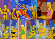 Marge's swimsuit collection (the show)