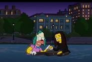 Penelope and Krusty reunite