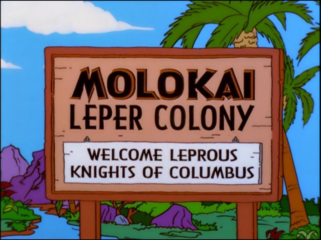 Colônia de Leprosos Molokai