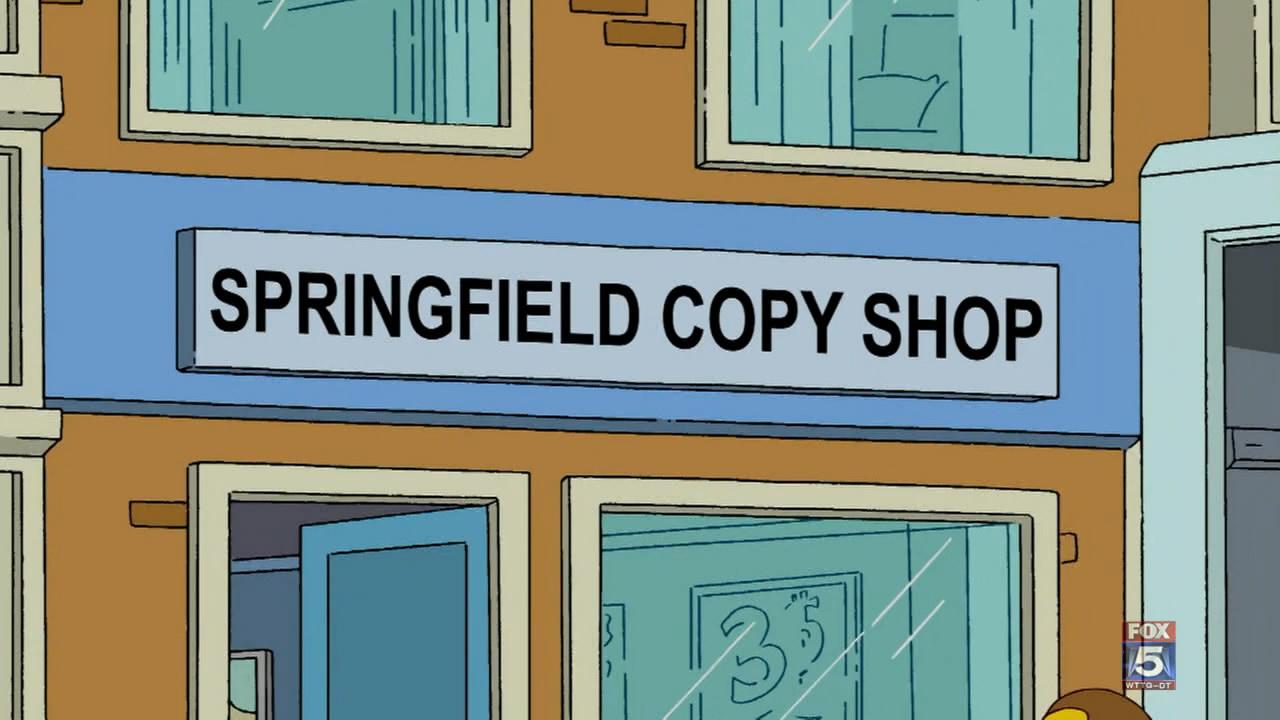 Loja de Cópias de Springfield
