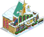 Festive First Church Of Springfield Tapped Out