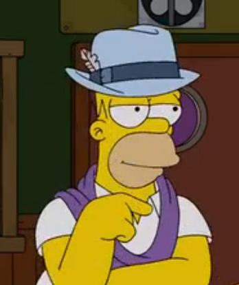 Homer Simpson Lookalike (The Burns Cage)