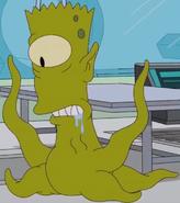 Bart as a Rigellian