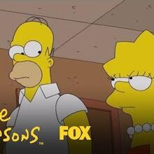 Lisa Suggests The Silent Treatment Season 29 Ep. 18 THE SIMPSONS