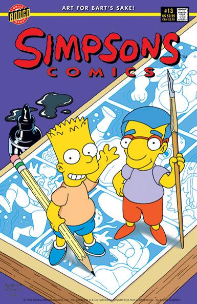 Simpsons Comics 13