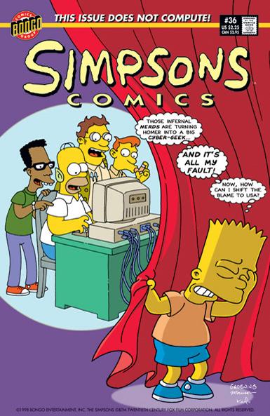 Simpsons Comics 36