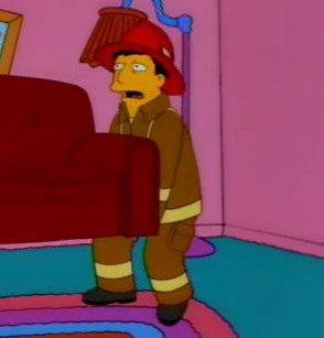 Fireman 2 (couch gag)
